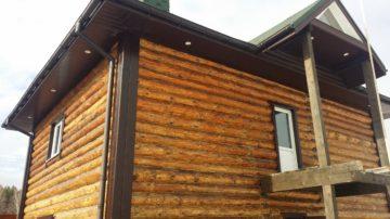 Деревянный дом деревня Осташково