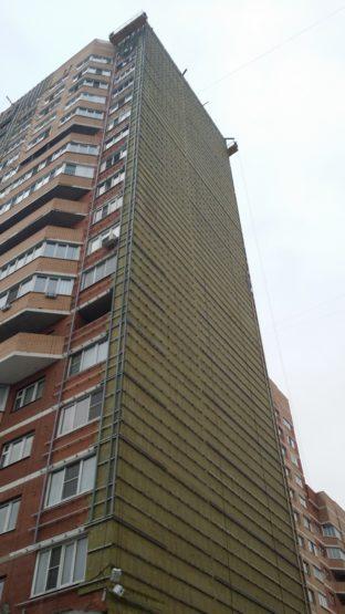 Обследование фасада здания в МО, г. Щербинка, ул. Чехова