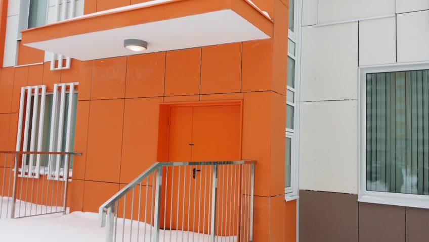 Экспертиза фасада здания на высолы, Нововатутинский пр-зд