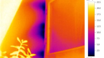 Тепловизионное обследование двухэтажного жилого дома в МО, Истринский р-н, пос. Павловская Слобода