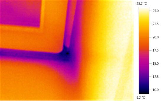 Тепловизионное обследование жилого дома в МО, Истринский р-н, пос. Павловская Слобода